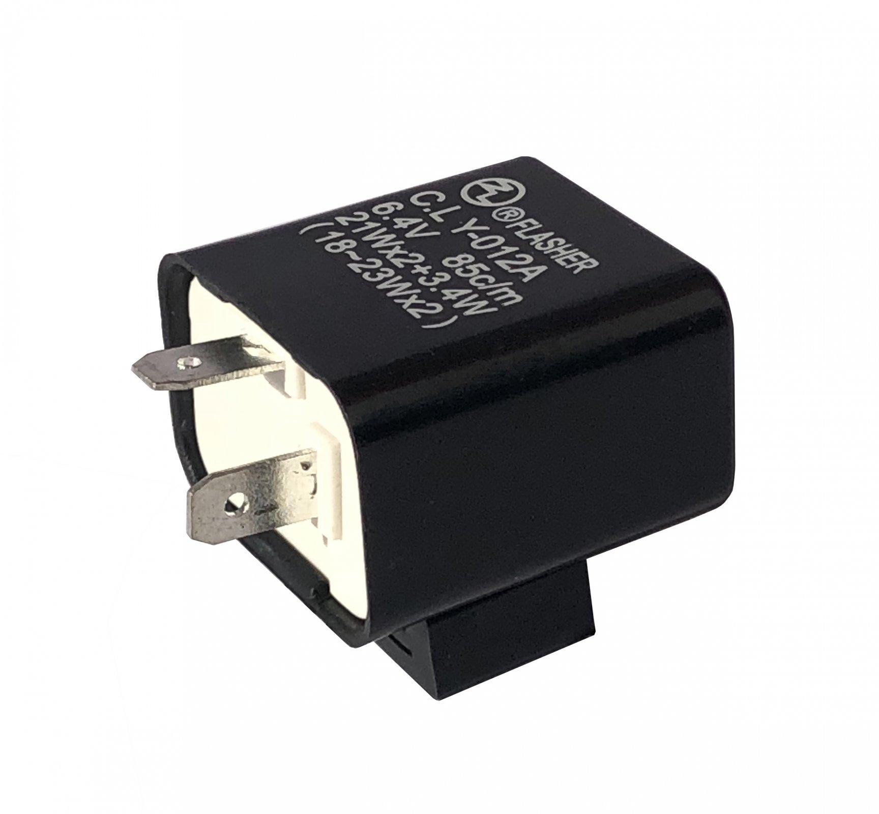 6V 2-Pin Flasher Relay FZ636SD 12-021