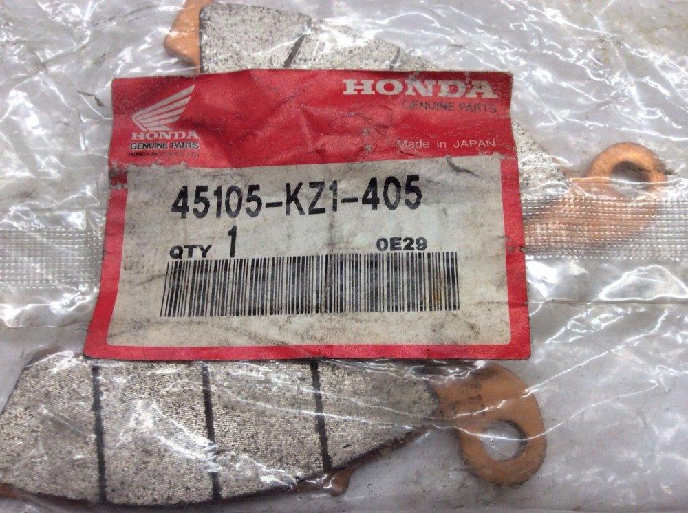HONDA CBR900RR GENUINE OEM 45105 MW0 415 PERFORMANCE FRONT BRAKE PAD SET  29 034