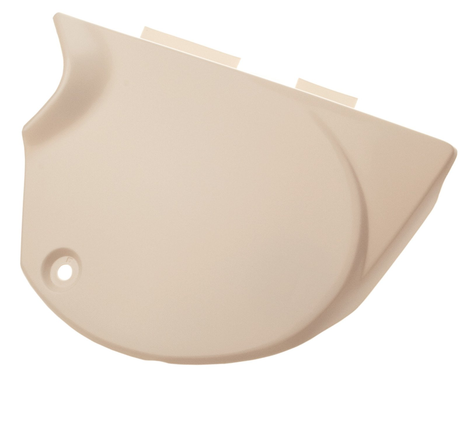 Clean White Side Cover For XT500 1980 1981 Right Hand4-043