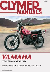 Yamaha XT500 TT500 1976-1981 CLYMER Repair Manual 1-116