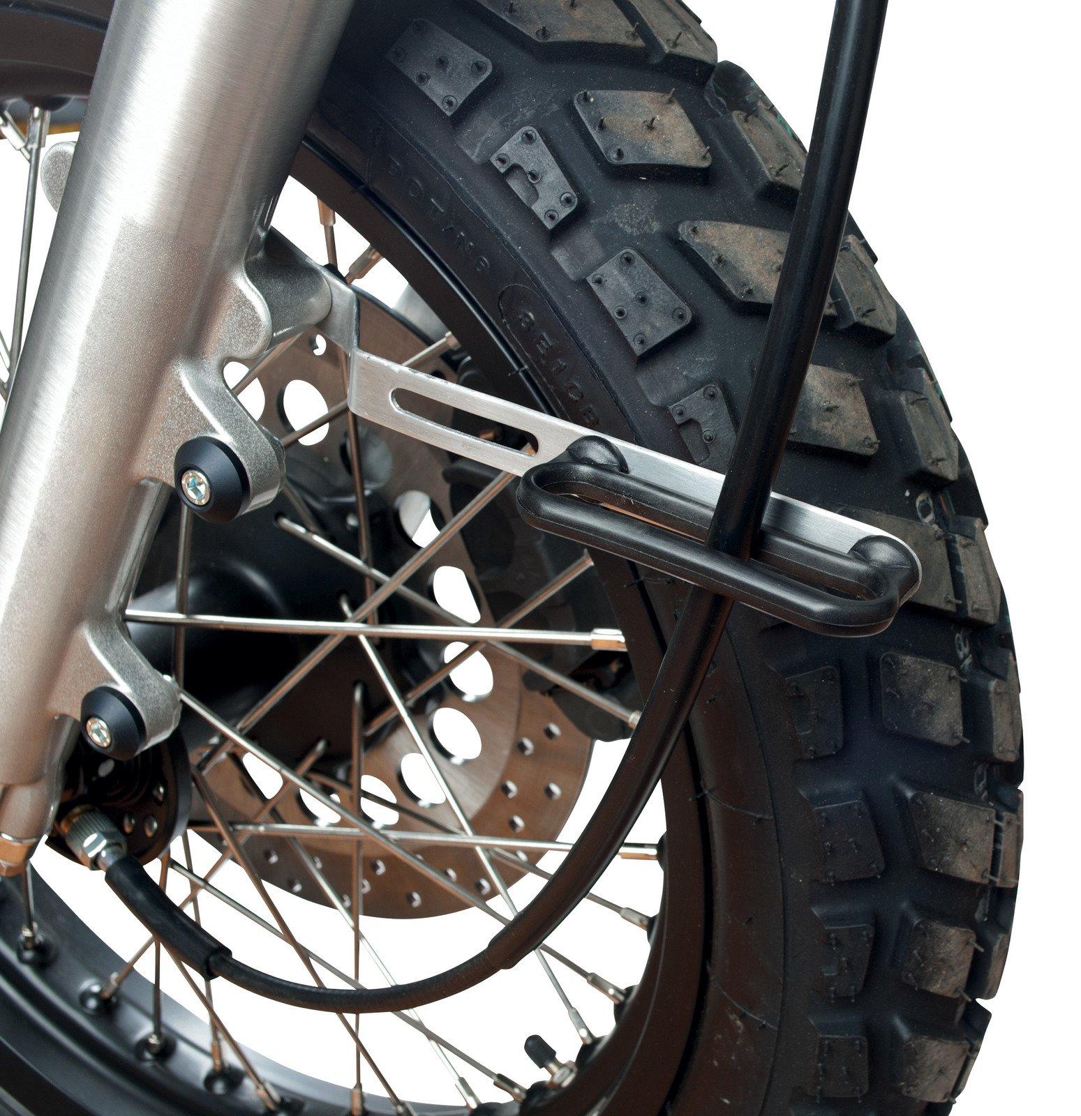 Yamaha SR400 & SR500 GibbonSlap Speedometer Bracket Guide (E.g. Front Fender WM0013) 22060