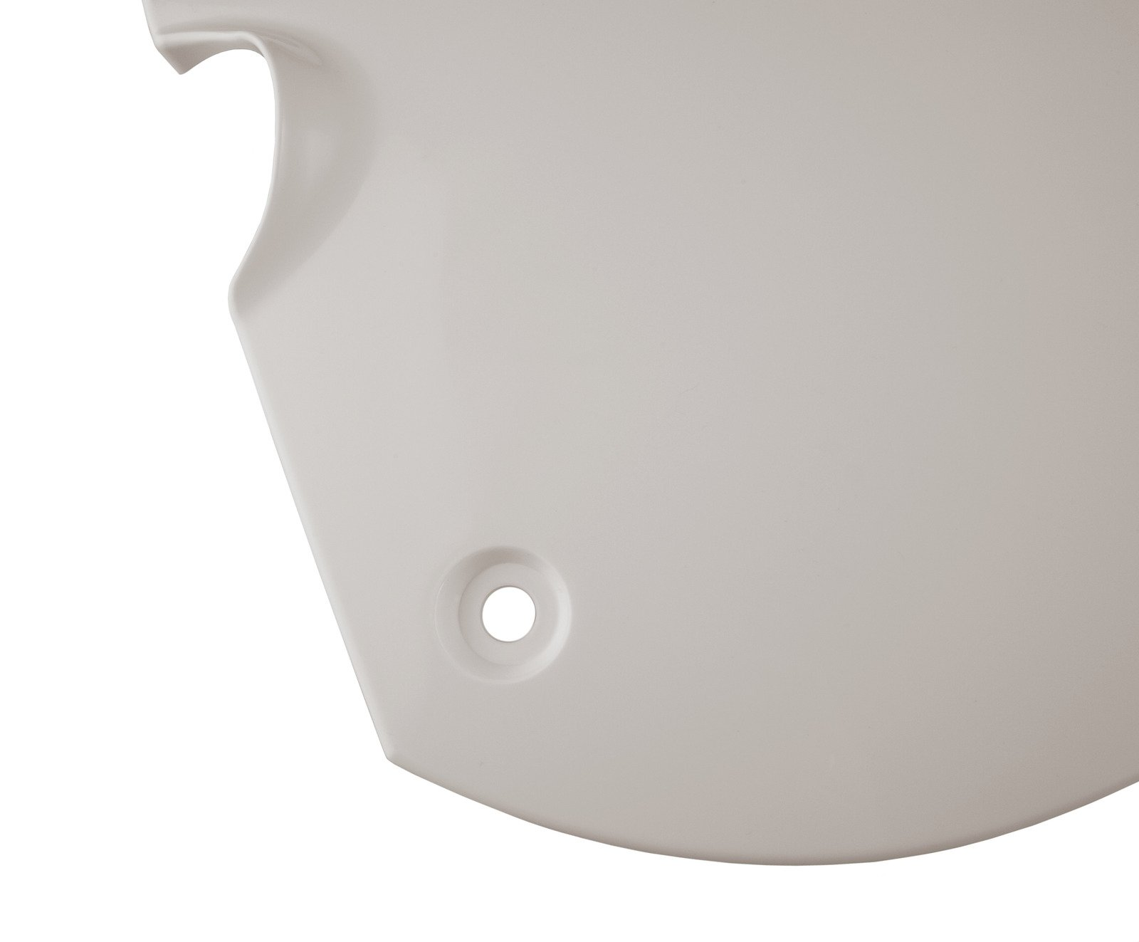 Clean White Right Hand Side Cover For Yamaha XT500 1976 TT500 4-015
