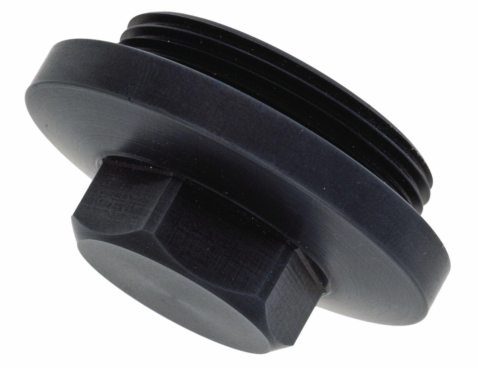 Yamaha XT500 TT500 583-15425-00-00 Ignition Generator Inspection Cover - Black Anodized 00-122