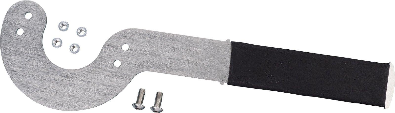Power Dynamo Flywheel Tool Stainless Steel; Rubberized Handle 31311