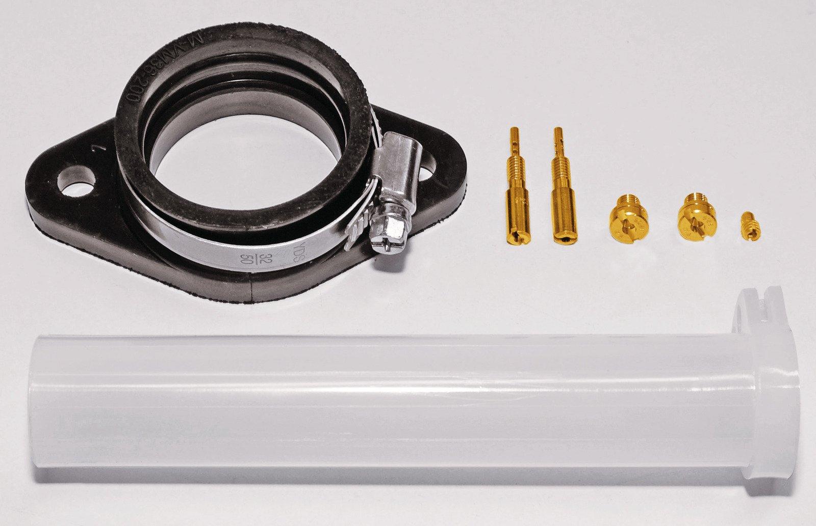 TM36 Rejetting & Mounting Kit w/ Throttle Tube  For SR500 33142