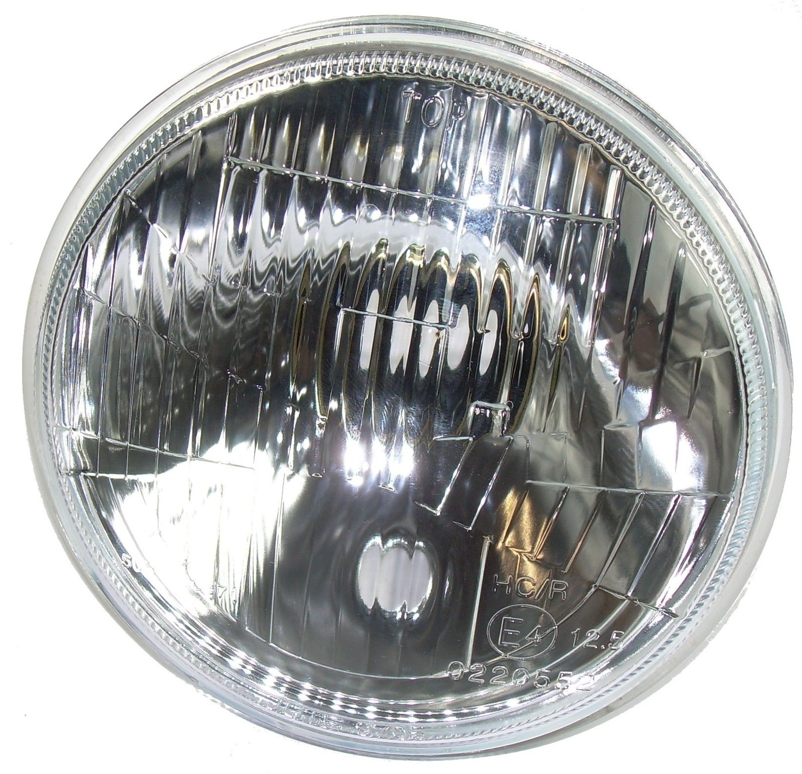 Yamaha XT500 XT250 H4 Headlight with Parking Light H4-Spring Terminal w/ Rubber Cap