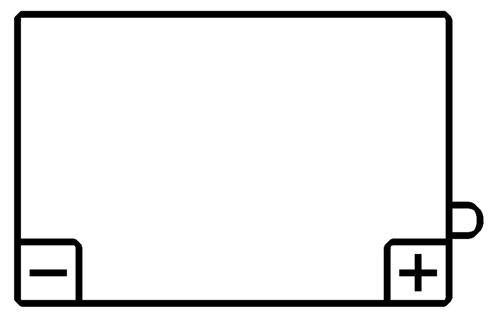 Battery 12V (YB5L-B = 12N5-3B) 40030