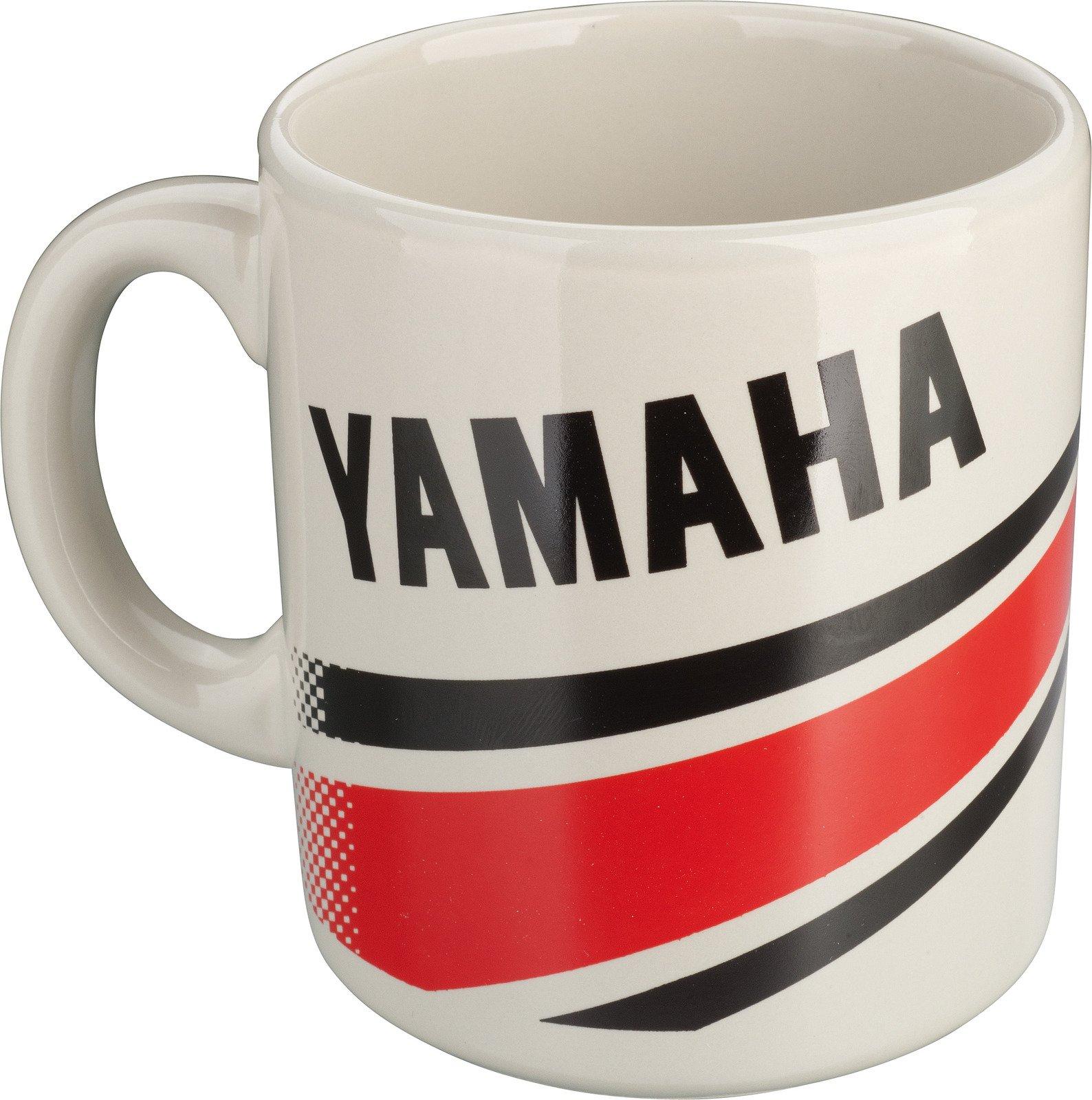 Yamaha Coffee Cup / Mug, 11 oz, Red / Black, YAMAHA 'Revs Your Heart'-Design, 06-013