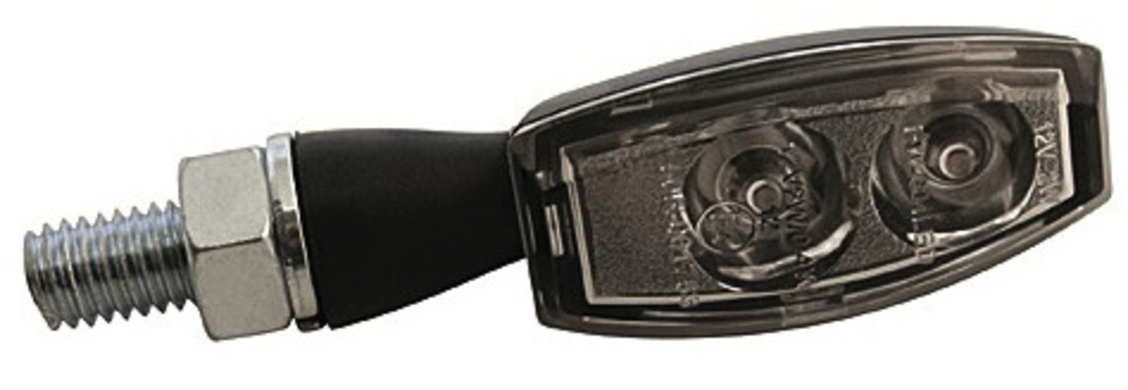 LED Turn Signals; Black BlazeClear Lens Type 41135