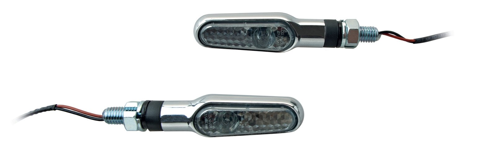 Yamaha SR400 & SR500 Daytona Chrome LED R/H & L/H Turn Signal Set