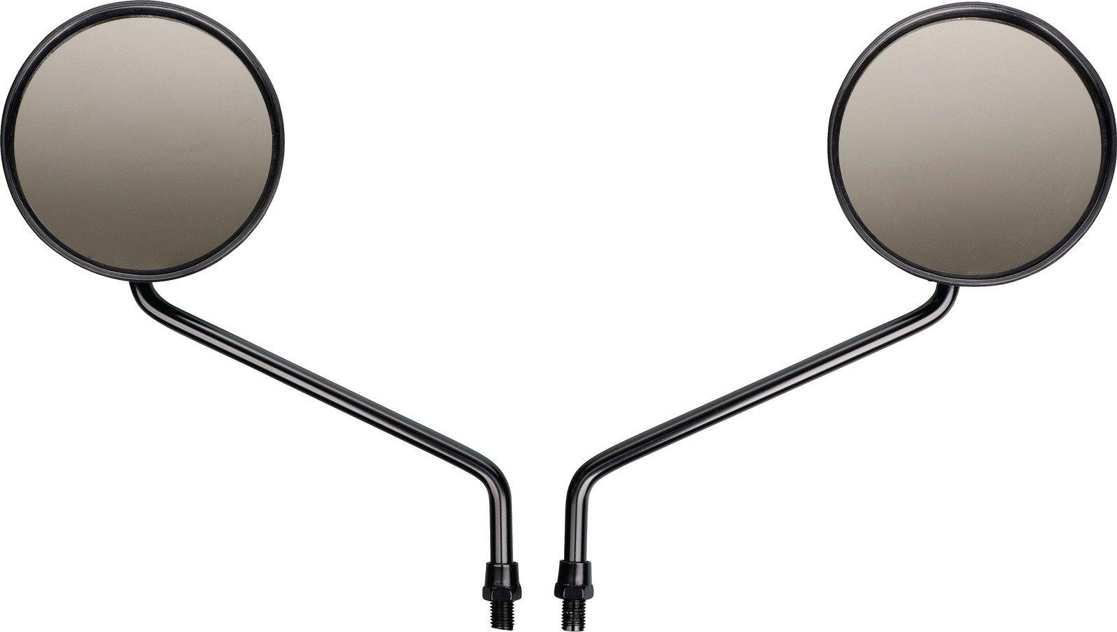 Black Mirror Set For Yamaha XT250 XT500 XT550 XT600 RH/LH 5-157