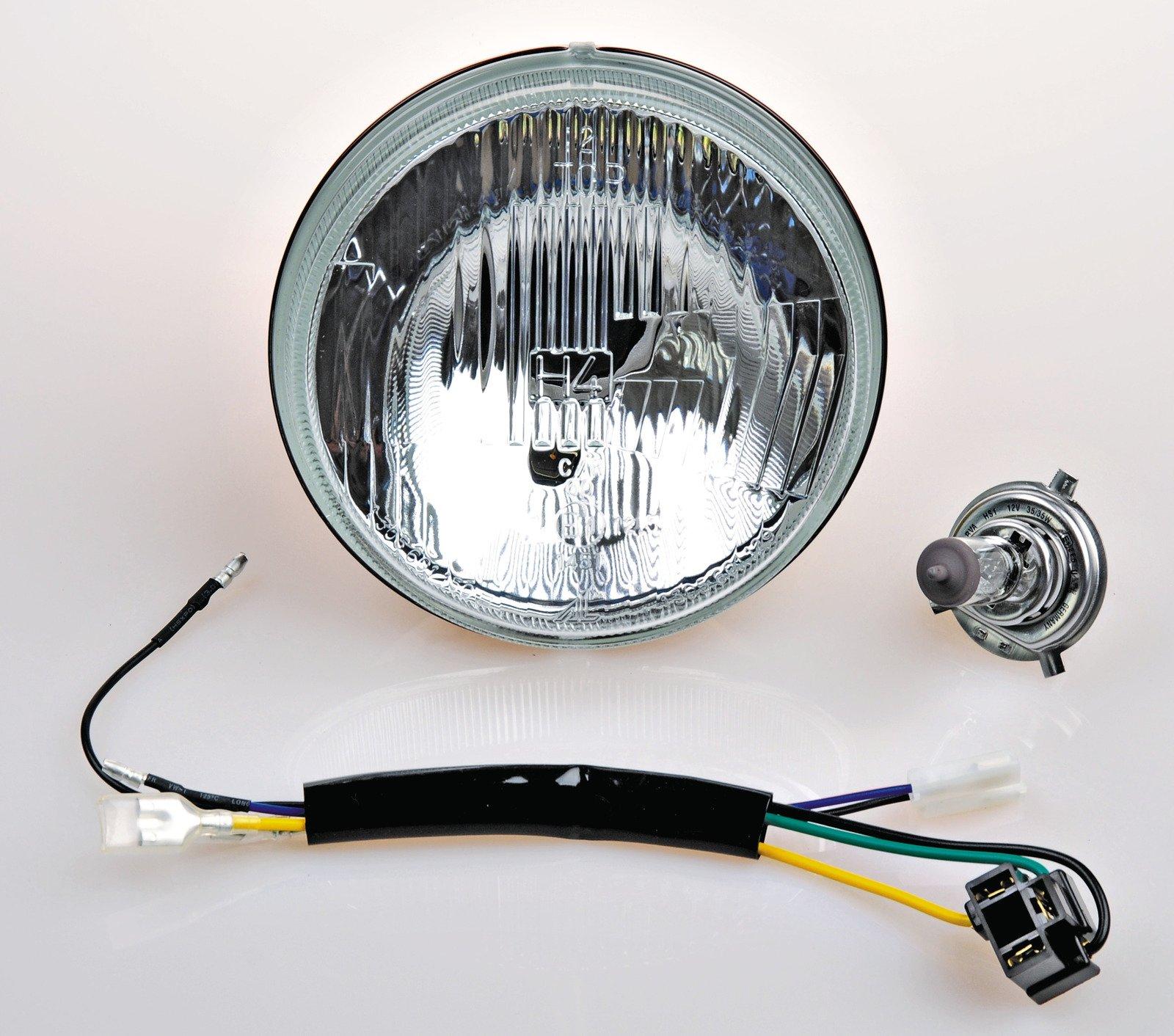 Headlights Supplies Yamaha 250 Enduro Wiring Harness Xt250 1976 1985 Xt500 6 Volt H4 Headlight Conversion Kit 10 013
