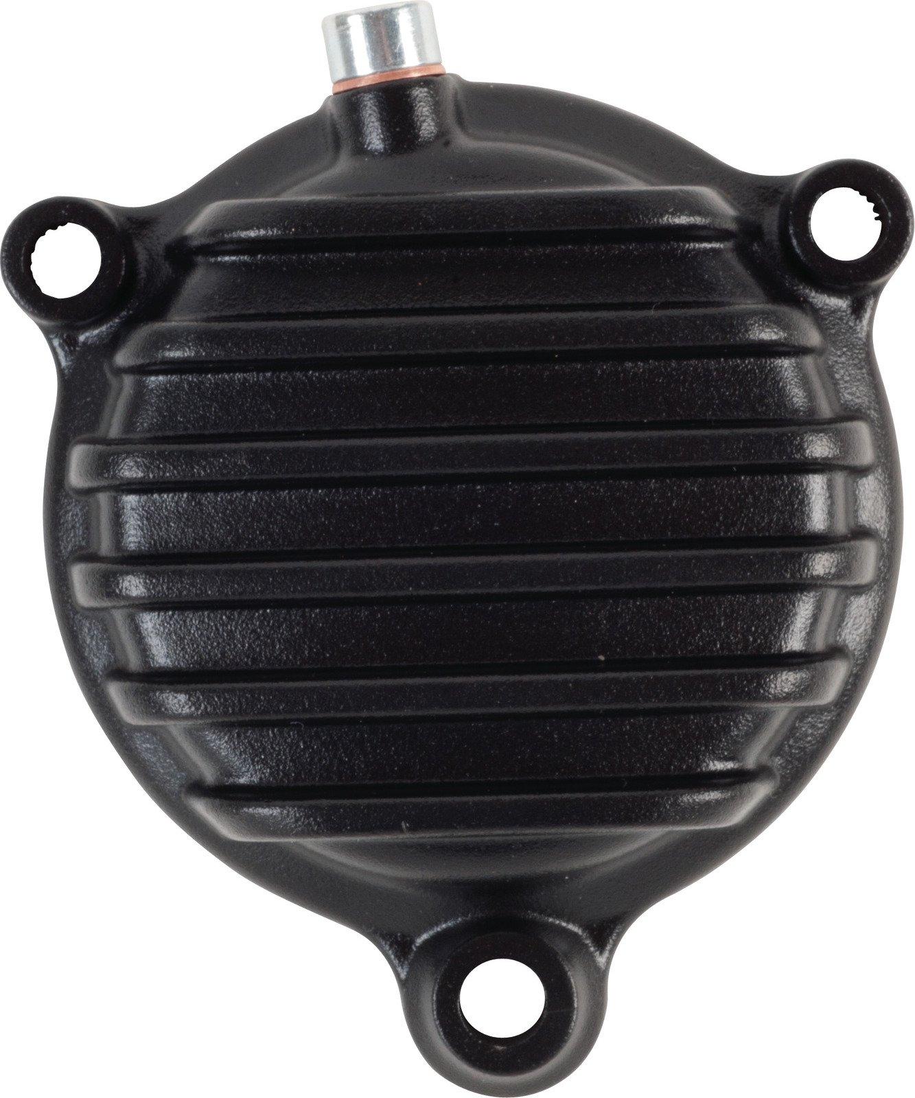 Yamaha SR400 SR500 TT500 XT500 Black Vi-Race Oil Filter Cover Kit w/ O-Rings 50273S