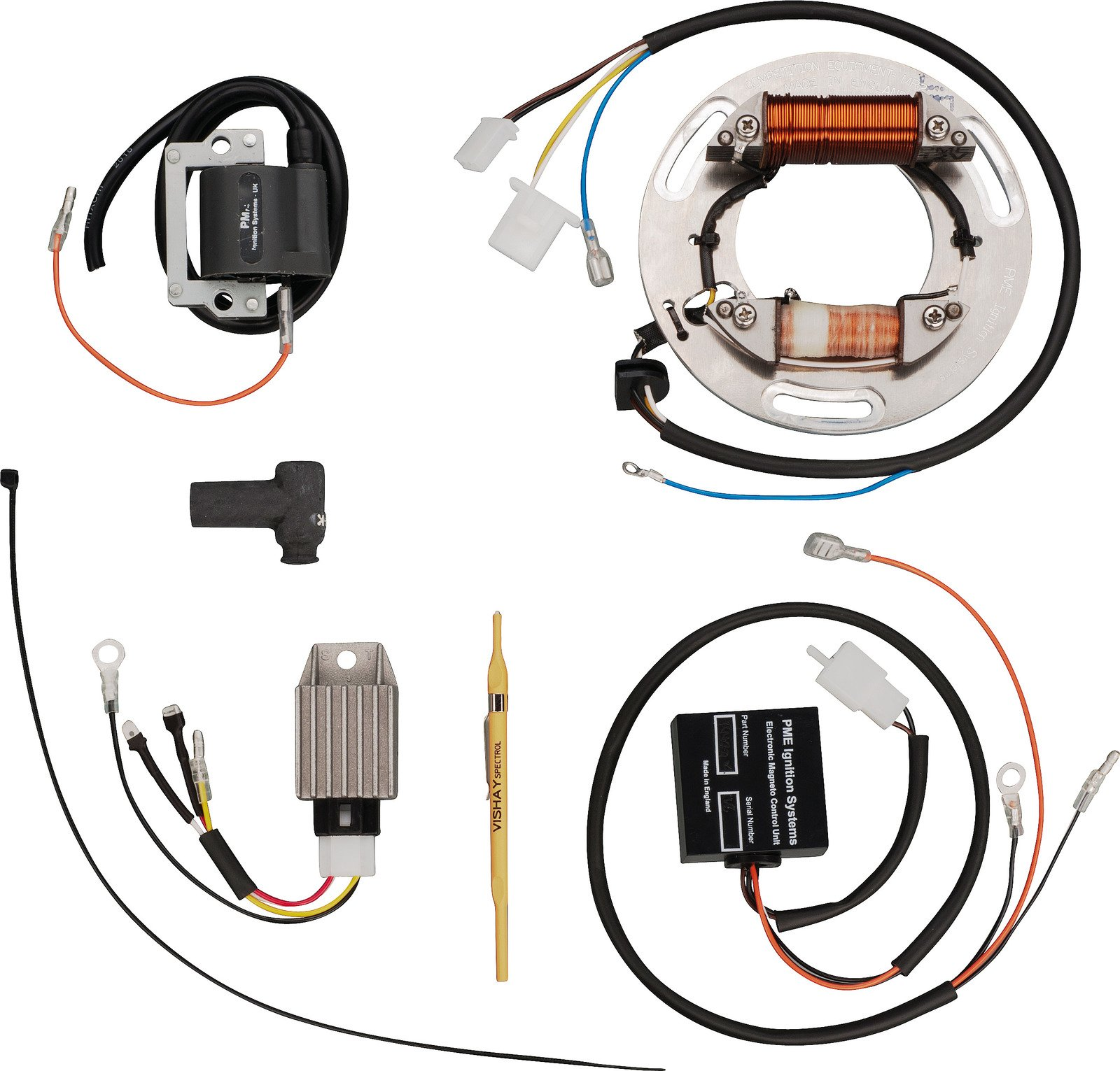 Ignition Supplies (Battery,Contact Breaker, Flywheel-Magneto