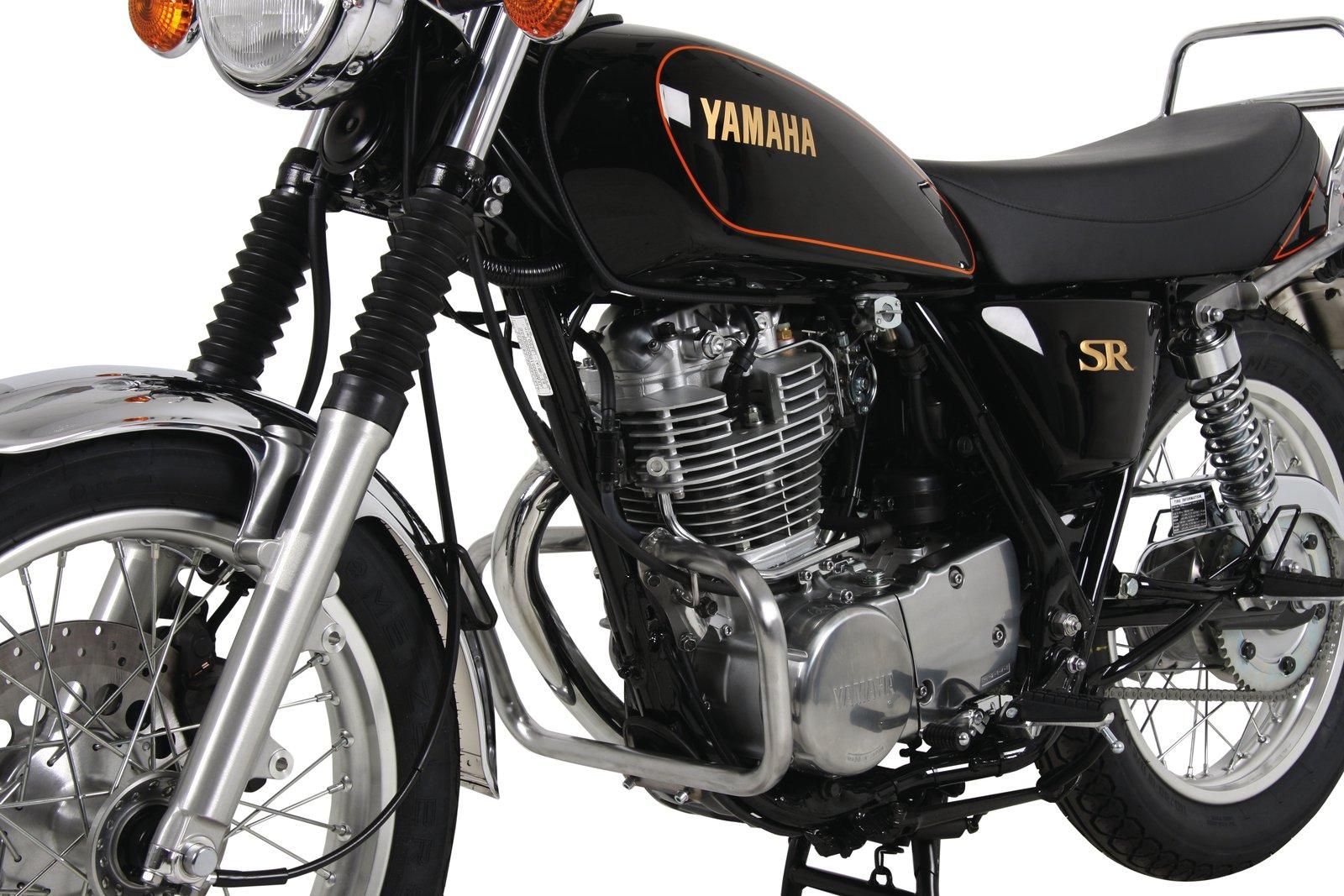 Yamaha SR400 and SR500, H&B Crash Bar, Chrome Plated, 5-070