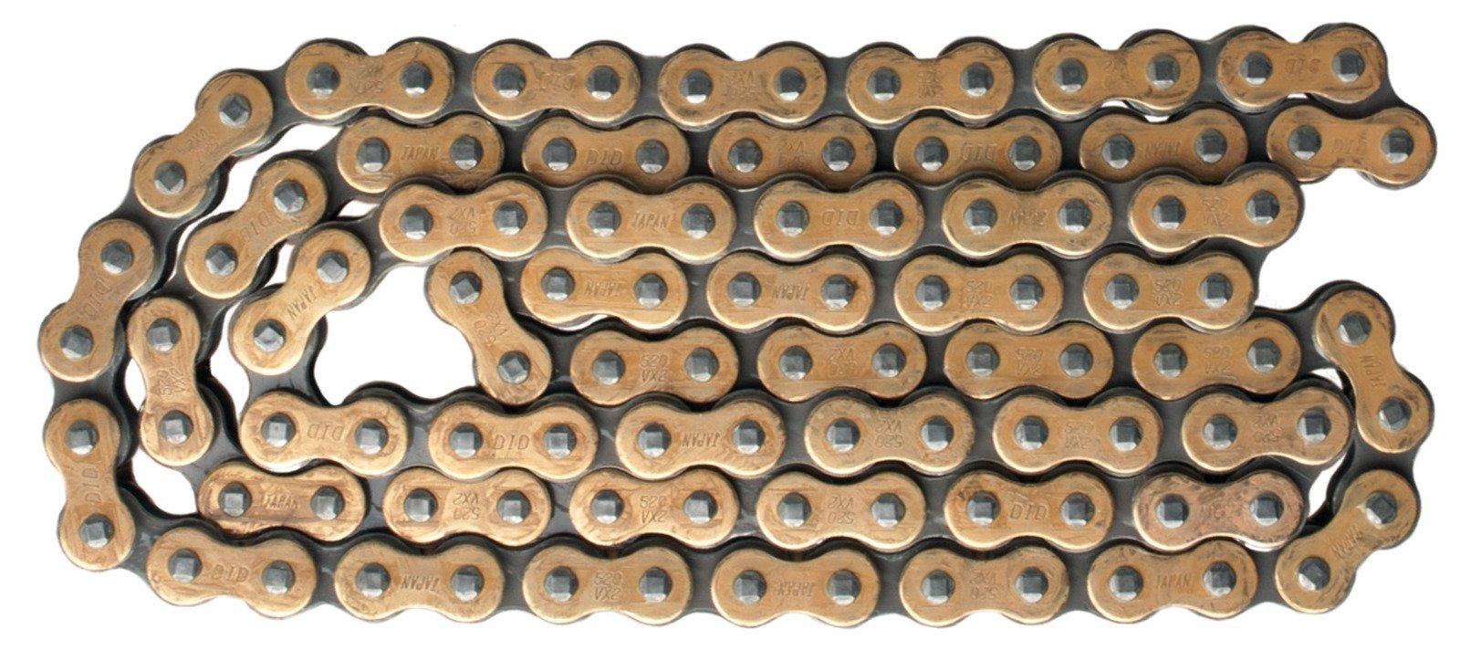 DID X-Ring Chain 520VX3 'G&B' 98 Links