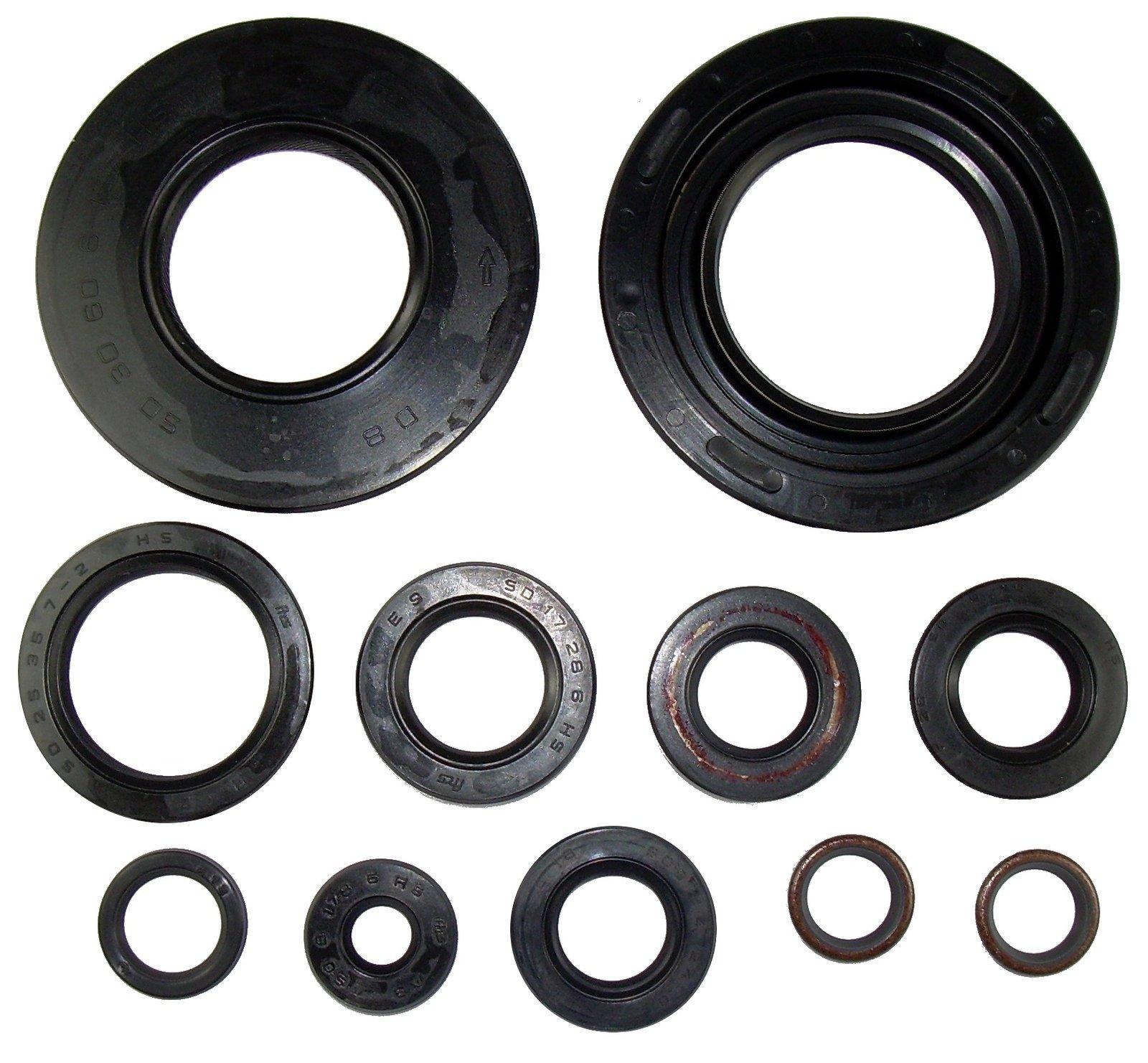 Engine Shaft Seal Kit For TT500 XT500 11PCS 1-179