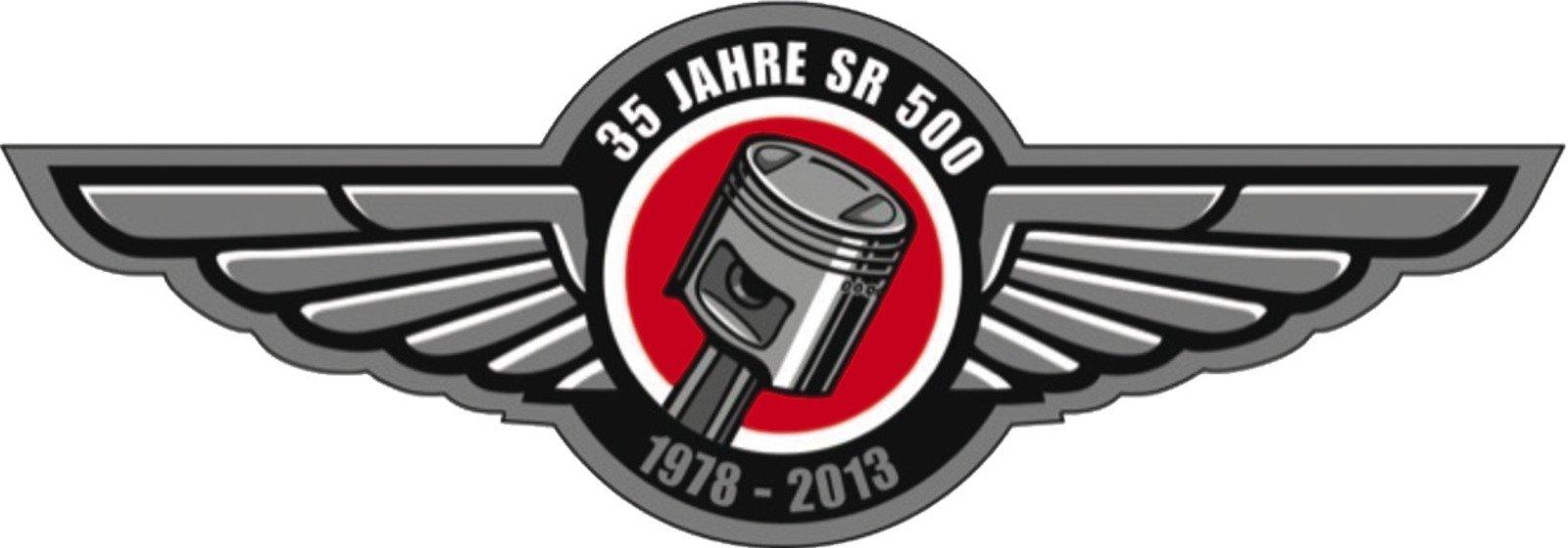 35th Anniversary Sticker SR500 90235