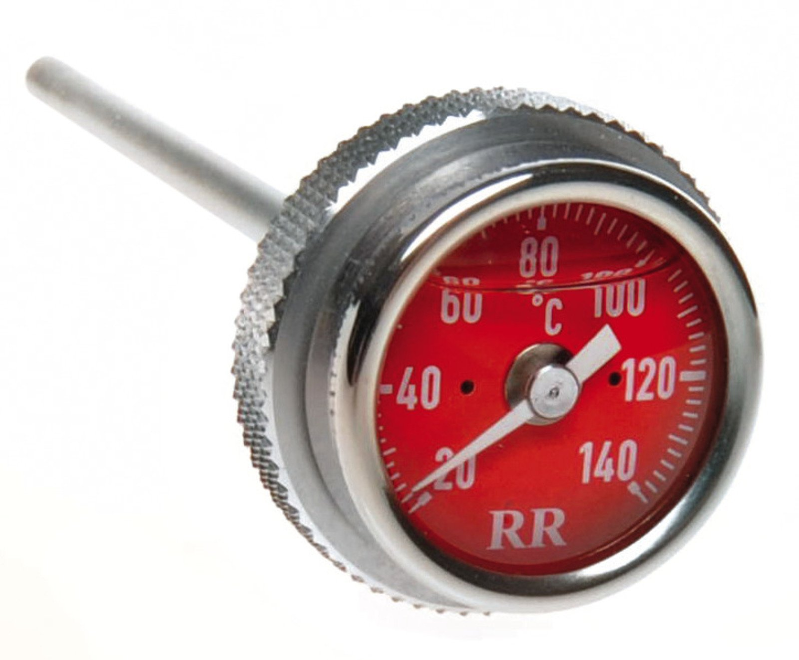 Oil Dipstick Celsius Thermometer RR34 with RED Clock-Face 91037R
