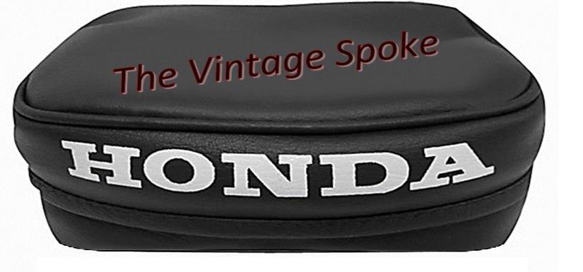 Honda 1981 1982 Xr200r Tool Bag Pouch Black W White