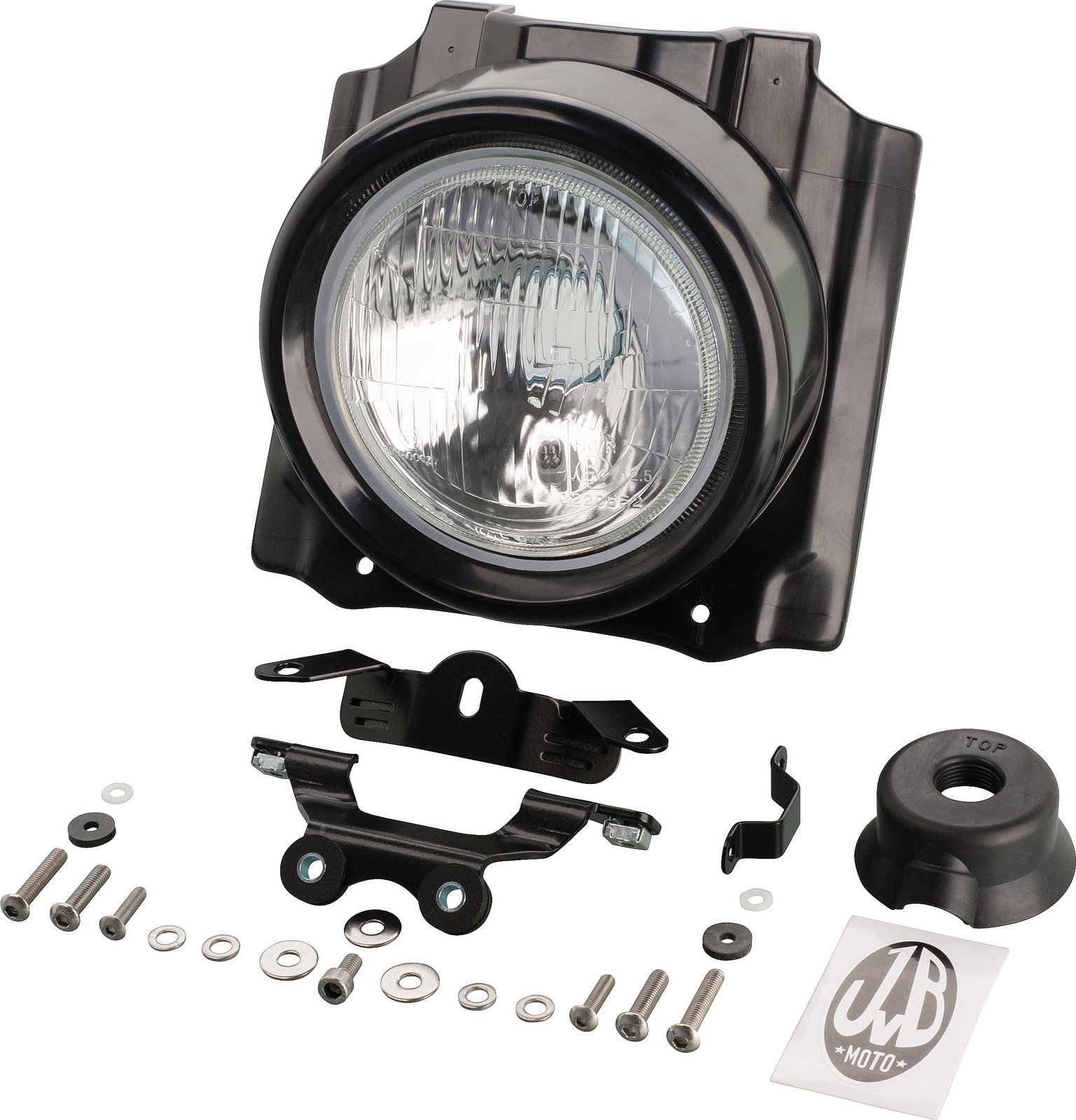 JvB-moto ' ABS Headlight Cover H4 lamp JVB0058-1