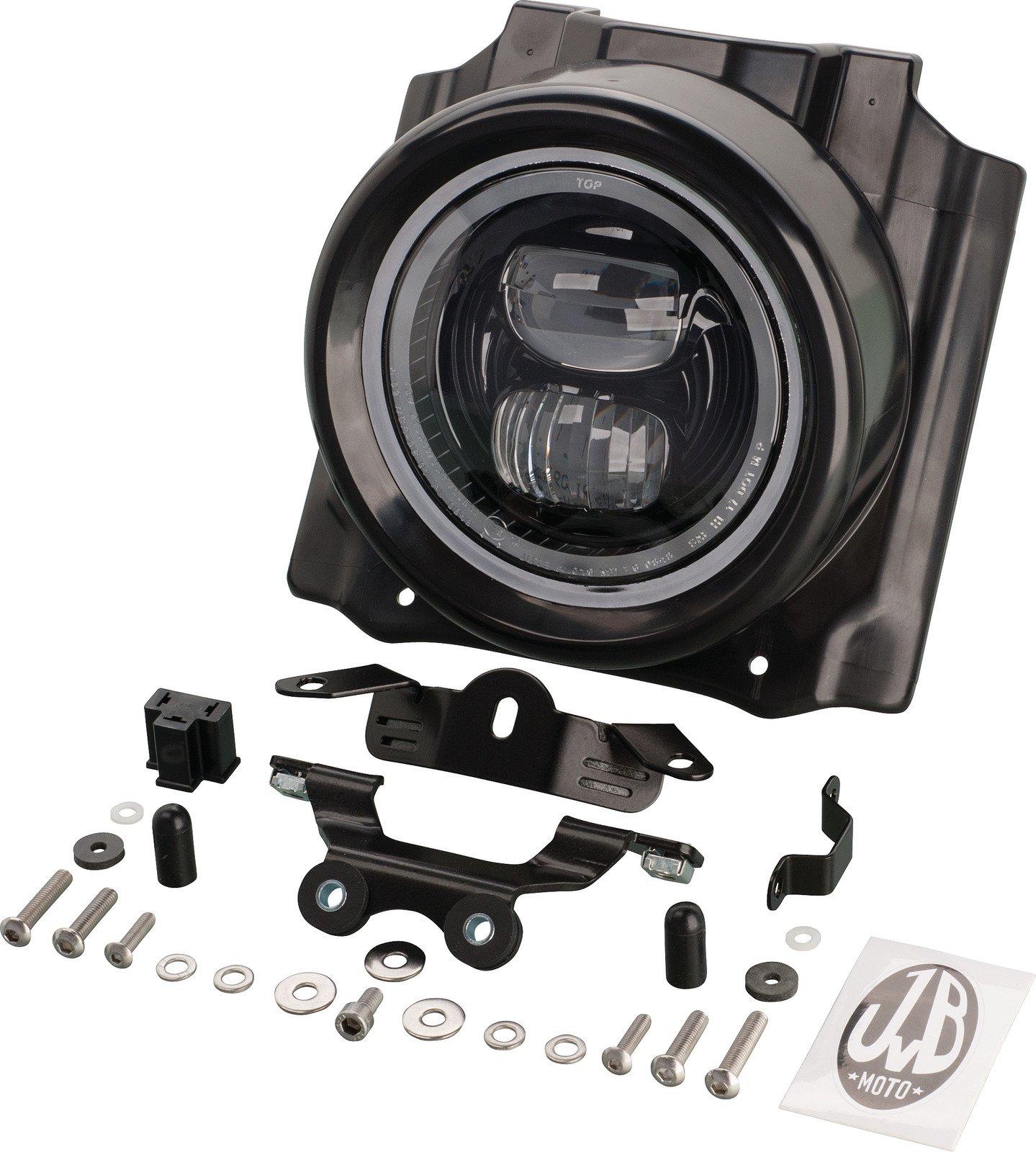 JvB-moto 'Super7' ABS Headlight Cover LED 4-094