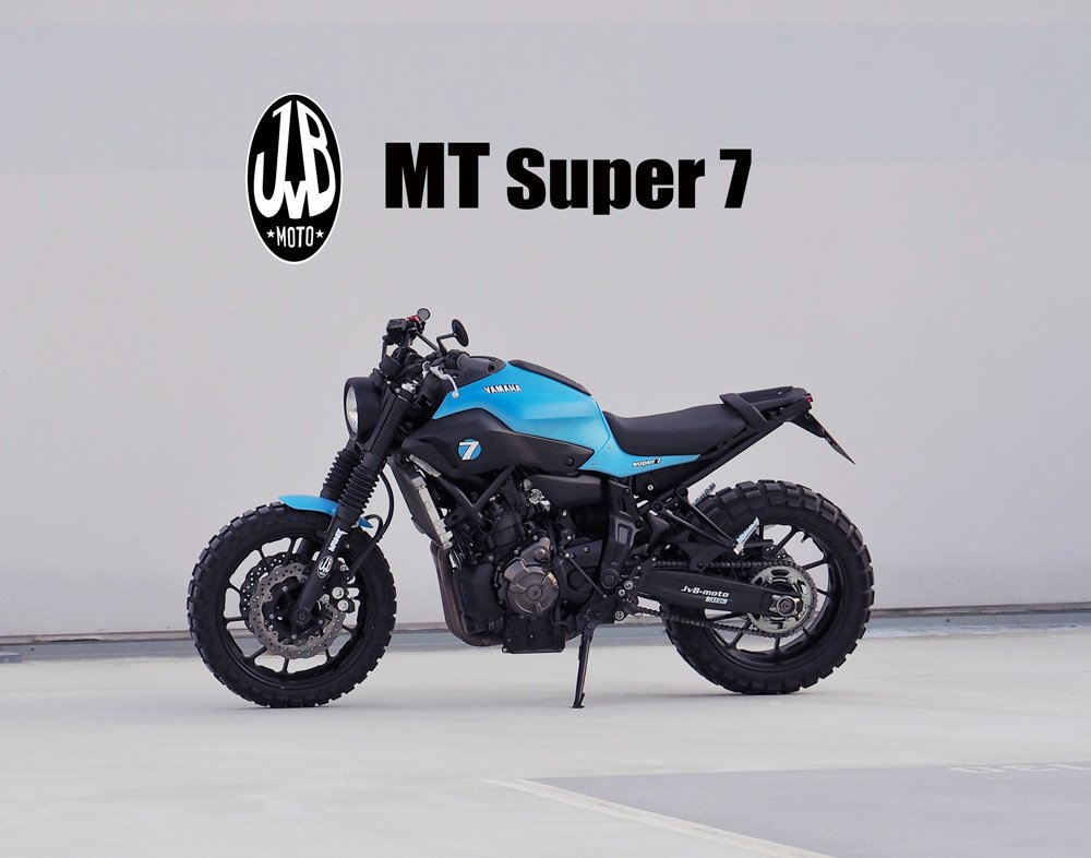 Yamaha MT-07 JvB-moto SUPER7 Basic Conversion Kit KITSUPER7MT07