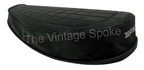 HONDA CB350 FOUR F0 F1 1972-1974 GENUINE REPLICA SEAT COVER W/ STRAP 021SC