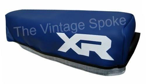 HONDA XR200R XR250R 1984 BLUE GENUINE REPLICA SEAT COVER 059SC