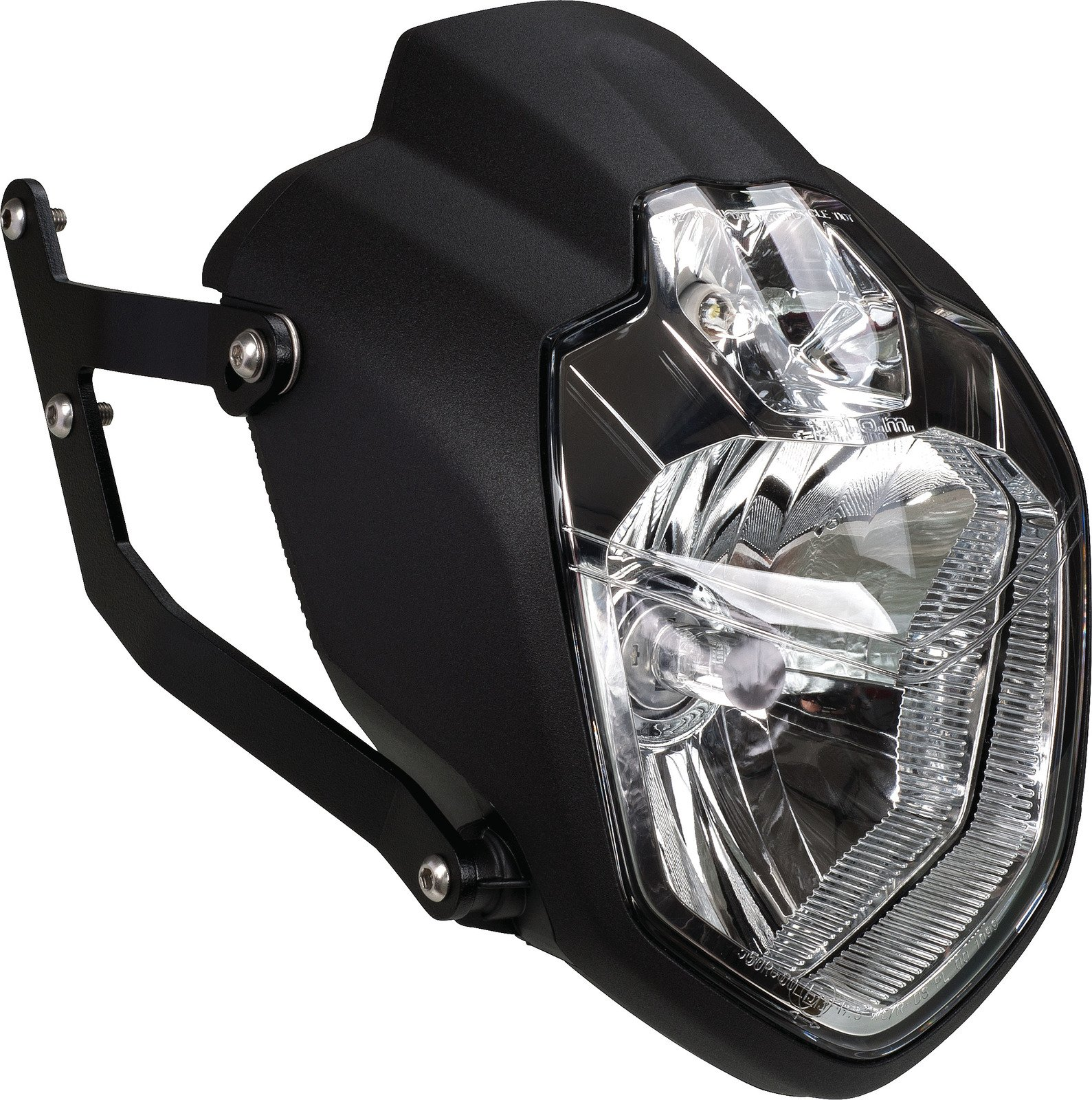 Yamaha XSR900 Wrenchmonkees Monkeebeast Headlight w/ Stainless Steel Brackets WM0030