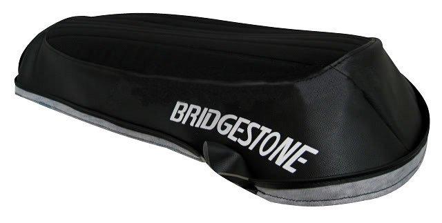 BRIDGESTONE 350 GTR GTO 1969-1971 SUADE *HEAT PRESSED* GENUINE REPLICA SEAT COVER 002SC