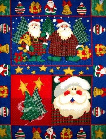 Santa Claus - Christmas Wall Hanging Panel