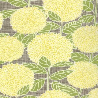 BlueBird Park by Moda, Floral Fabric, Yellow Fabric, 02175