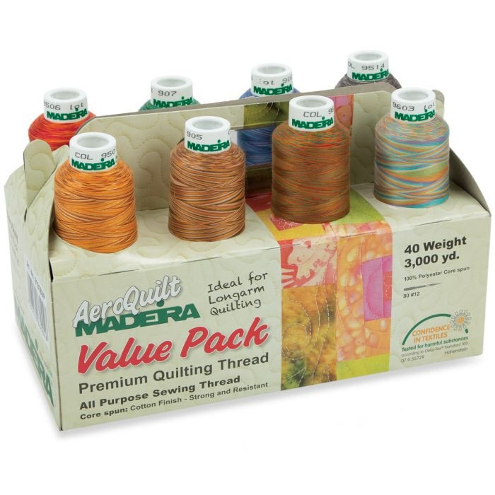 Madeira Aeroquilt Variegated Value Pack