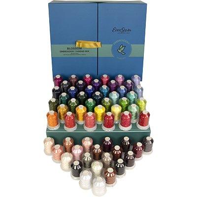 EverSewn Embroidery Thread Box Blossom 60 Spool