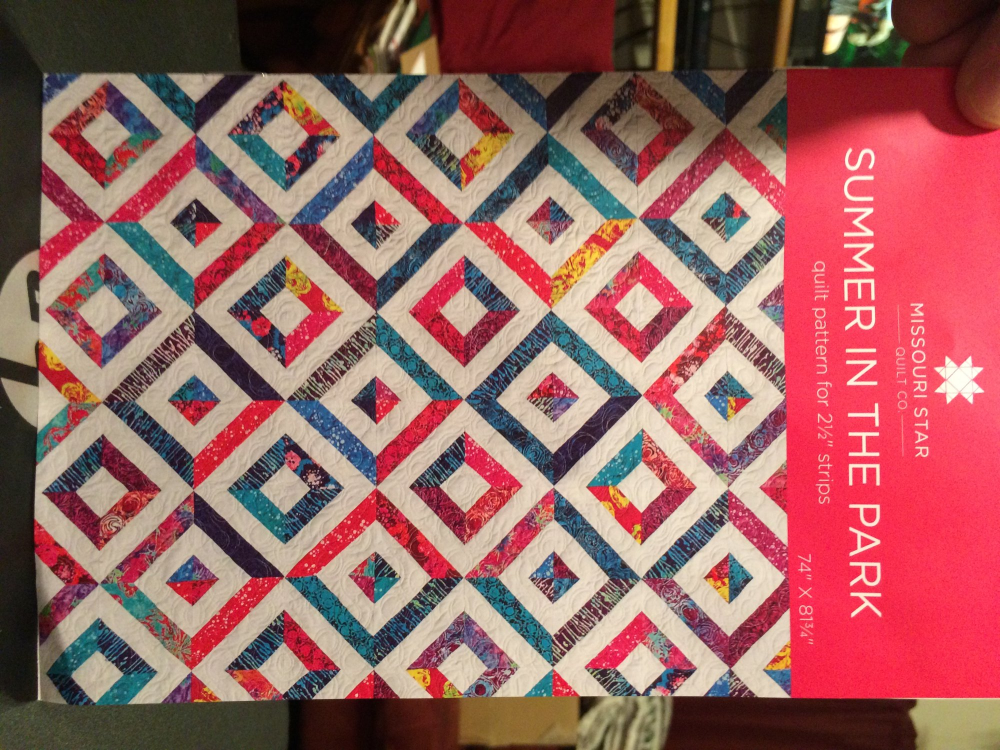 Summer In The Park Quilt From Missouri Star Quilt Co 930 To 400