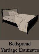 Bed Spread Yardage Estimates