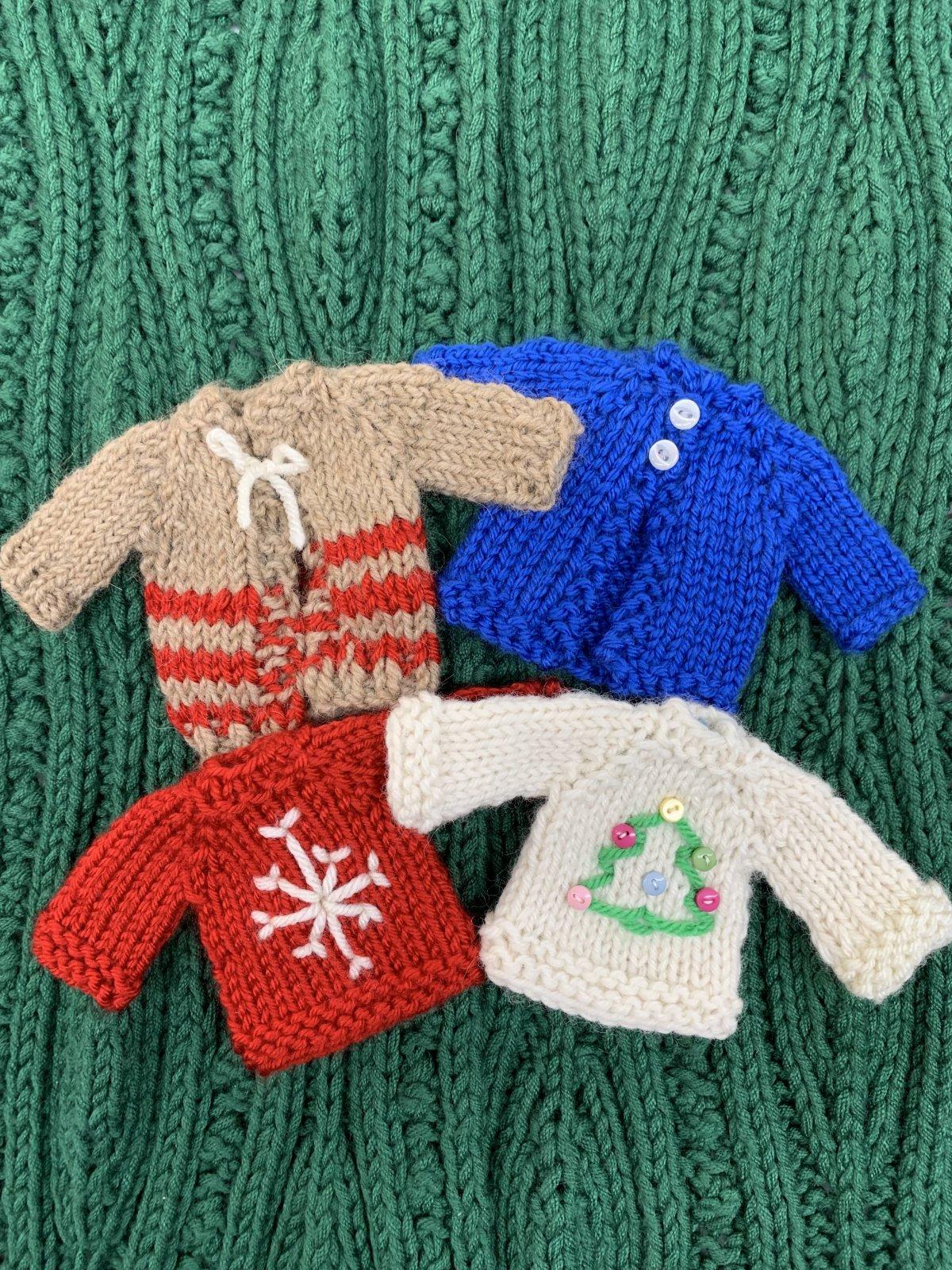 Sweater Ornament Kits Pre-order