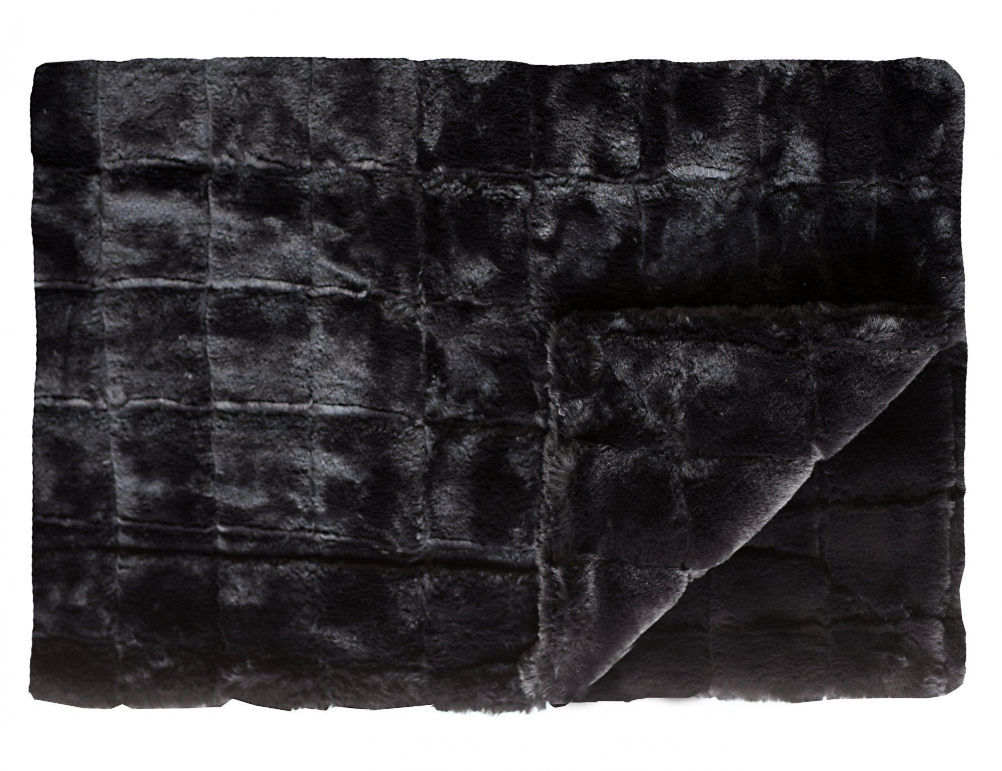 Urban Black Premium Plush No Ruffle