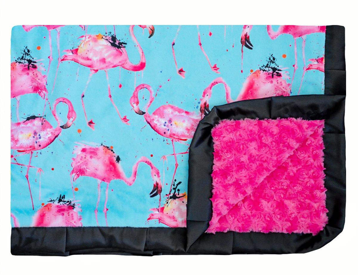 Flamingo Splash Turquoise