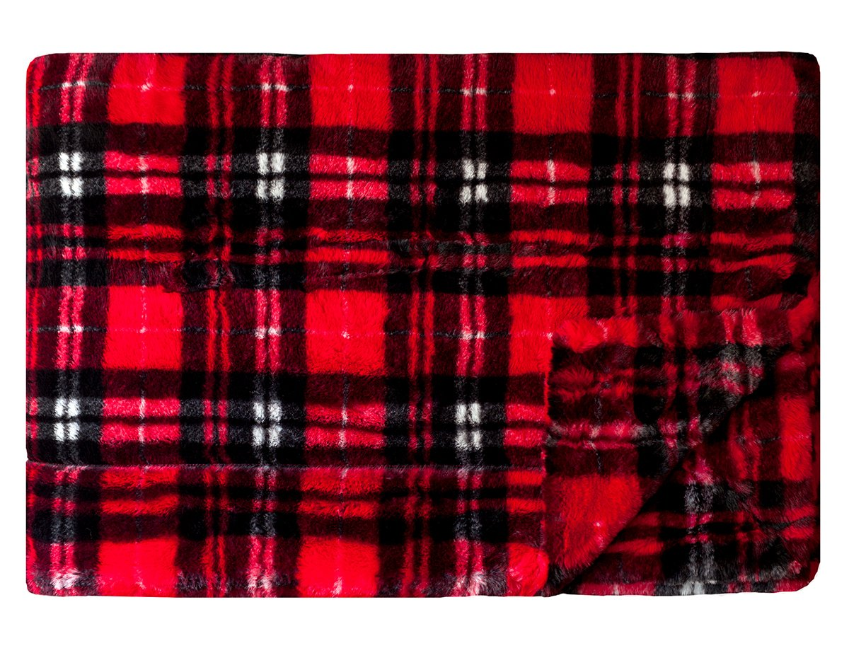 Urban Plaid - Red
