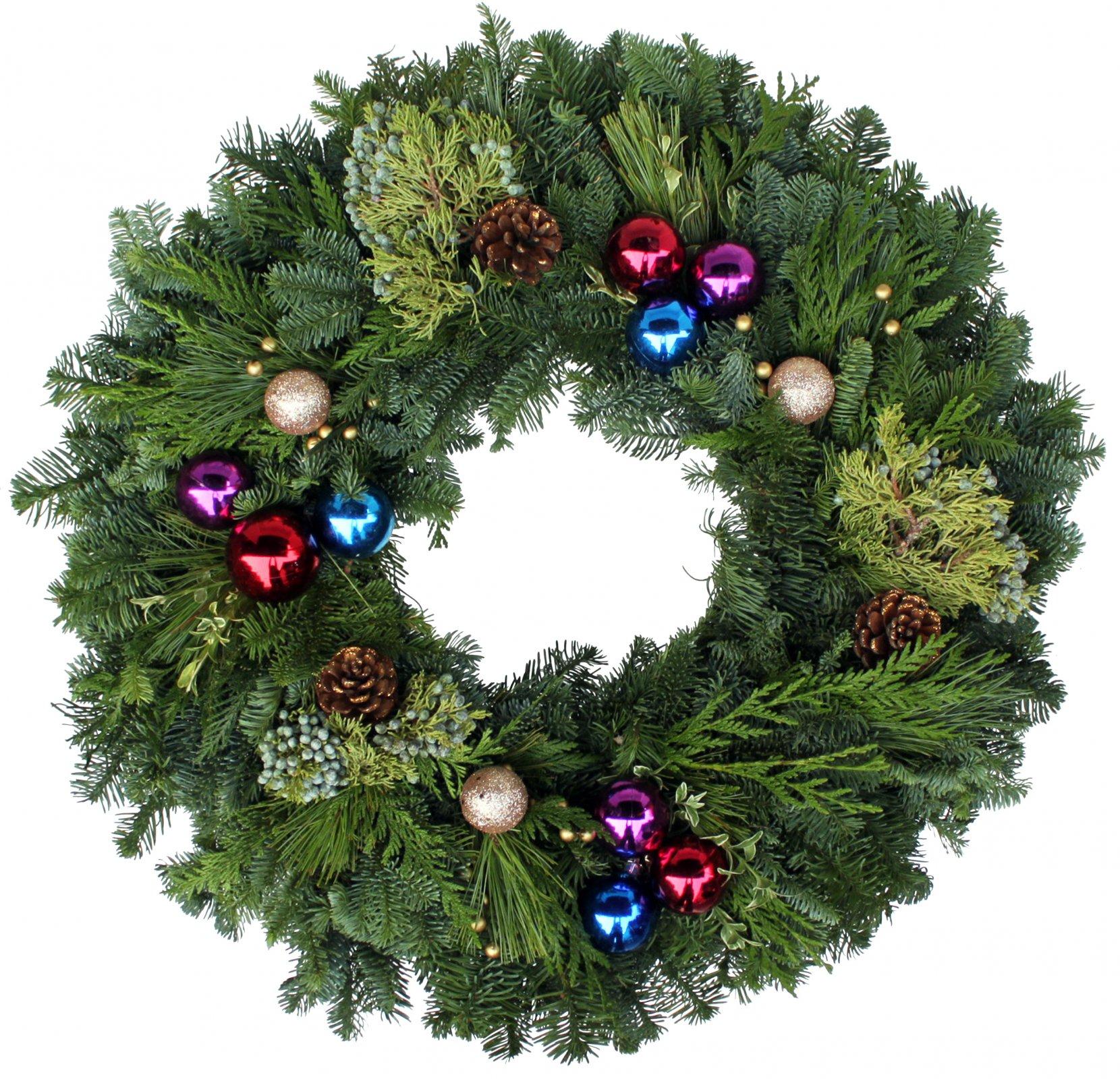 24 Festive Design Wreath