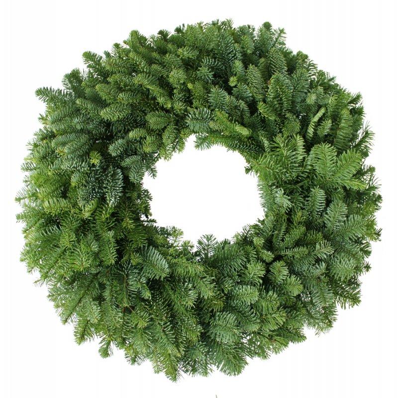 24 Noble Fir Wreath (Six Pack)
