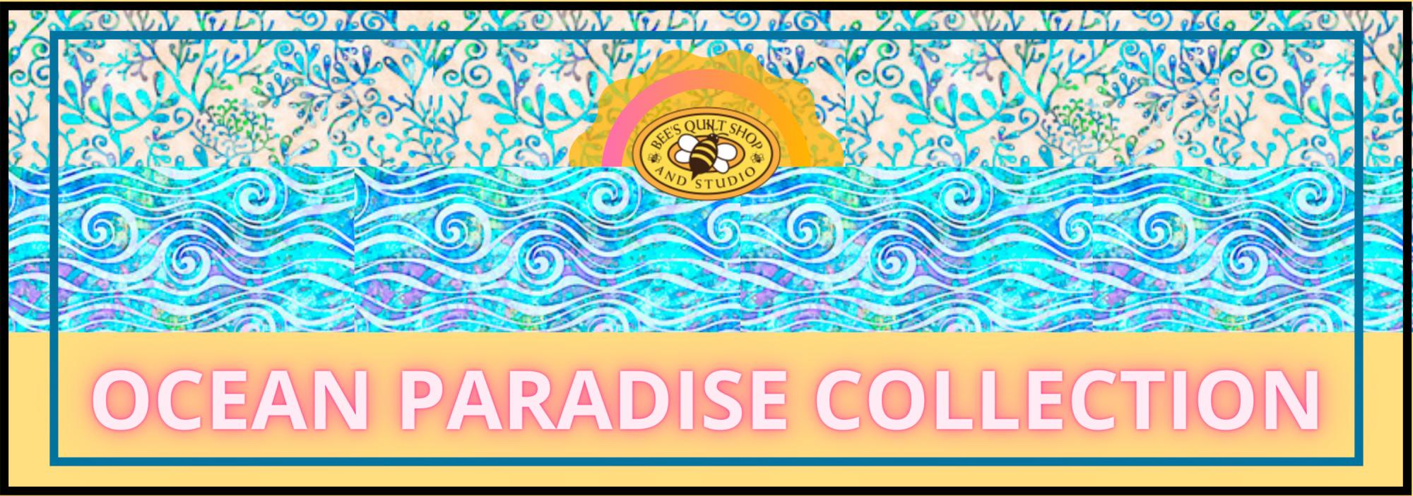 bees quilt shop st augustine QT fabrics ocean paradise