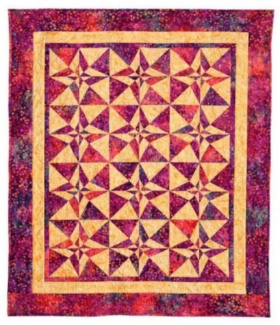 bee's quilt shop day and night quilt class with Steve