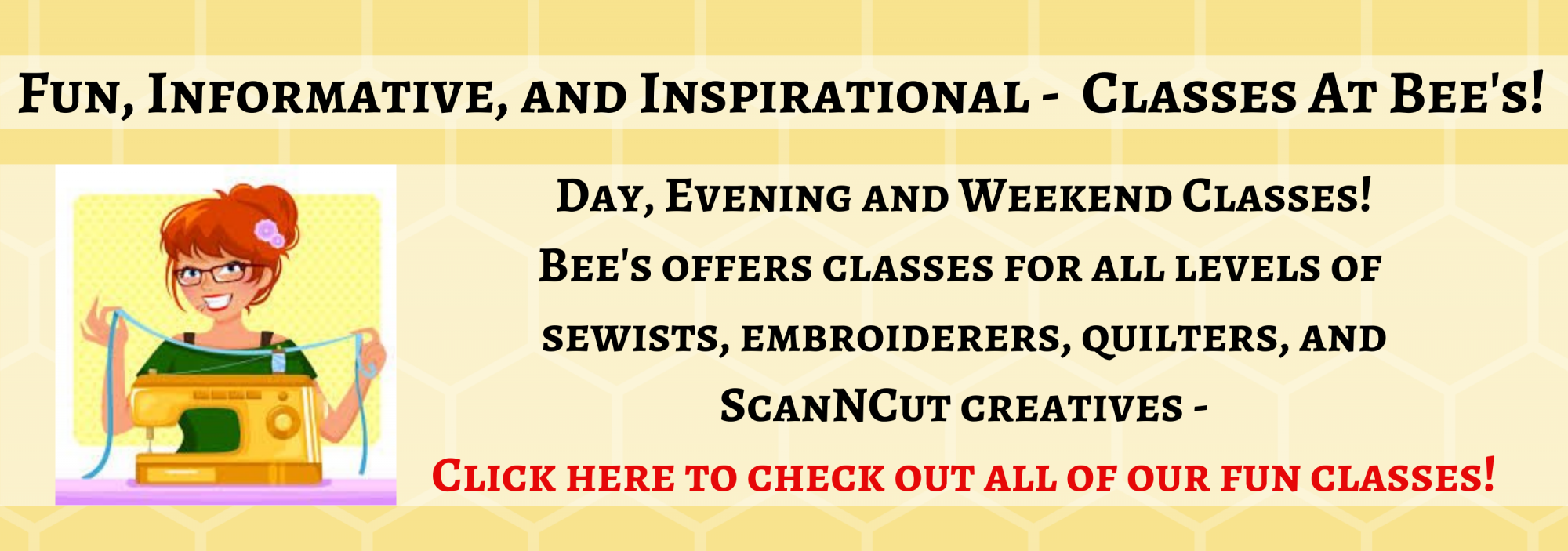 bee's quilt shop classes st augustine
