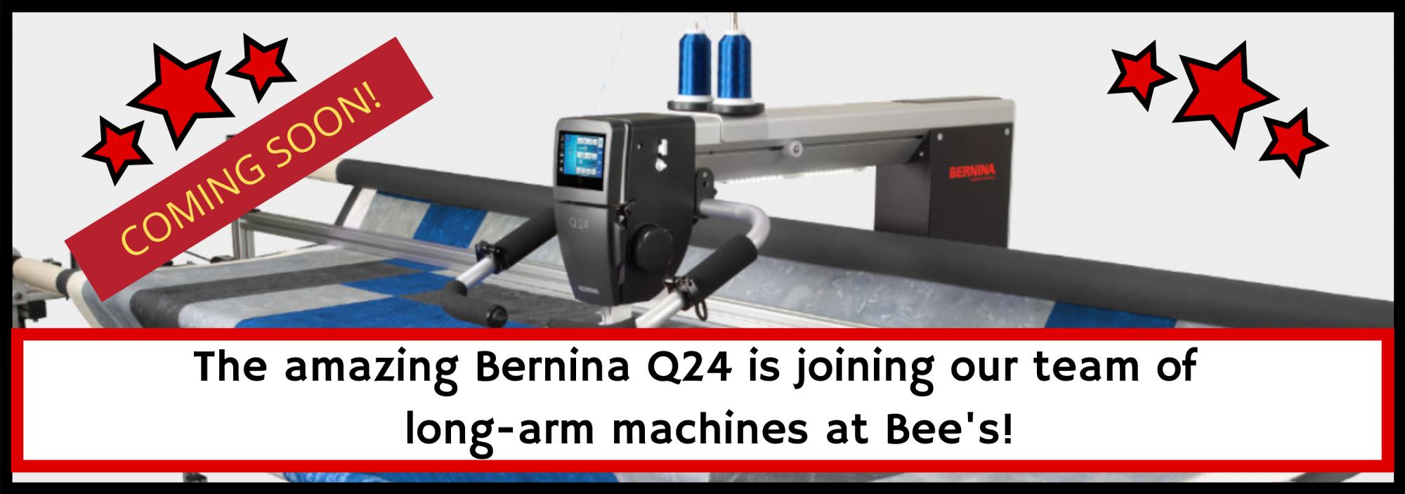 bee's quilt shop st augustine bernina q24 long arm