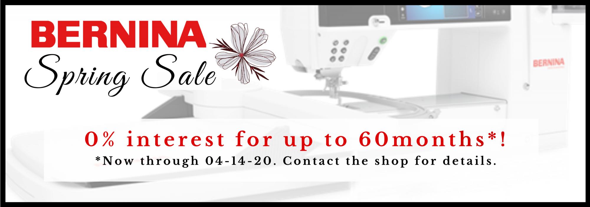 bee's quilt shop st augustine bernina machine sale