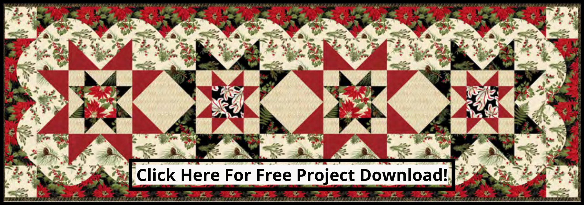 bee's quilt shop st augustine blank fabric yuletide botanica