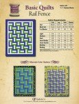 Basic Quilts-Rail Fence Pattern